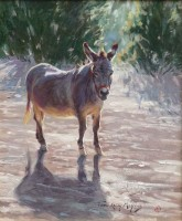 Pecos Burro / Terri Kelly Moyers / 20.00x16.00 / $7500.00/ Sold