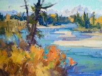 Teton View / Jill Carver / 9.00x12.00 / $1350.00/ Sold