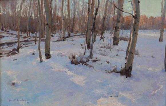 Aspen Grove In Winter / Grant Redden, CA / 12.00x18.00 / $3900.00