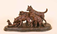 Last Of The Prairie Wolf / Richard Loffler / 11.00x21.00 / $5500.00/ Sold
