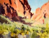 Afternoon Sun, Big Bend / Jill Carver / 11.00x14.00 / $1650.00