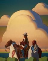 Desert Light / Logan Maxwell Hagege / 60.00x48.00 / $38000.00/ Sold