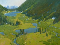 Upper Lake Basin / Wayne Wolfe / 30.00x40.00 / $24000.00/ Sold