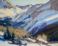 Winter Study, San Juans / Jill Carver / 8.00x10.00 / $1250.00/ Sold