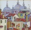 Rooftops of Venice / John  Moyers / 12.00x12.00 / $3600.00/ Sold