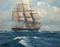 Close Hauled, Ship Henry B. Hyde / Christopher Blossom / 16.00x20.00 / $15000.00