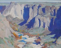 Canyon of the Snake / G. Russell Case / 16.00x20.00 / $6000.00
