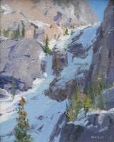 Snow Chutes Study, Rocky Man. Natl. Park / Skip Whitcomb / 10.00x8.00 / $2100.00