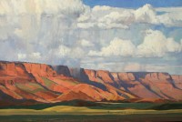 Rain at Marble Canyon / G. Russell Case / 24.00x36.00 / $13000.00