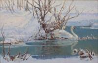 Winter Retreat / Jim Morgan / 24.00x36.00 / $14500.00