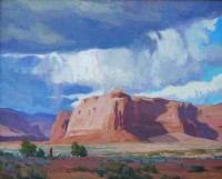 Thunder Rock Storm / G. Russell Case / 24.00x30.00 / $10000.00