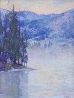 New Beginnings - Alturus Lake, Idaho / Amy Sidrane / 16.00x12.00 / $2500.00/ Sold