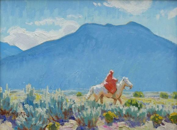 Lone Rider / John Moyers / 12.00x16.00 / $5500.00