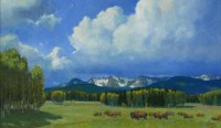 All On A Summer's Day / Wayne Wolfe / 30.00x50.00 / $22000.00