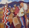 Pulse of the People / John Moyers / 36.00x36.00 / $36000.00