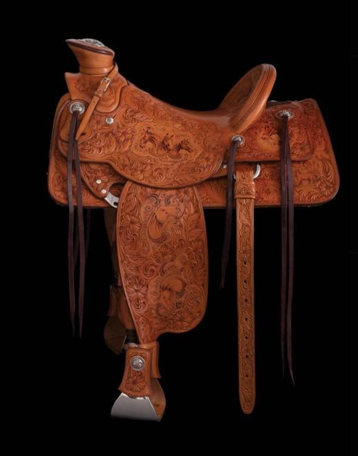 Cary Schwarz/Scott Hardy 2019 TCAA Saddle / Cary Schwarz / x / $41000.00/ Sold