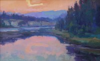 September Skies / Jill Carver / 12.00x19.00 / $2350.00