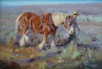 Fall Work / Grant Redden, CA / 7.00x10.00 / $1200.00/ Sold