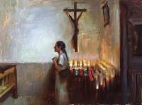 Prayer / Suchitra Bhosle / 12.00x16.00 / $3500.00/ Sold