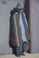Pueblo By Night / Logan Maxwell Hagege / 30.00x20.00 / $6800.00/ Sold