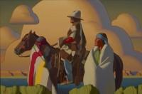 Light Across The Desert / Logan Maxwell Hagege / 40.00x60.00 / $30000.00/ Sold