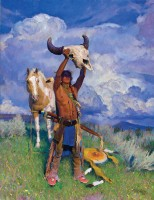 Rise Ancient Thunder / R.S. Riddick, CA / 60.00x46.00 / $60000.00/ Sold