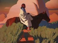 Evening Song / Logan Maxwell Hagege / 72.00x96.00 / $60000.00/ Sold