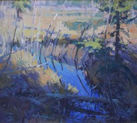 Beaver Pond Puzzle / Jill Carver / 18.00x20.00 / $3400.00/ Sold