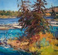 Wyoming Majesty / Jill Carver / 18.00x19.00 / $3600.00