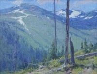 Summer In The Bitterroots / Skip Whitcomb / 11.00x14.00 / $3600.00/ Sold