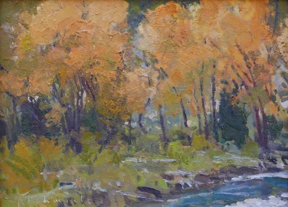 Flaming Fall Foliage / Len Chmiel / 9.00x12.00 / $2700.00