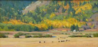 The Look Of Autumn / G. Russell Case / x12.00 / $6000.00/ Sold