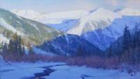Winter Vespers / Skip Whitcomb / 28.00x48.00 / $24000.00