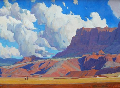 Dancing Skies by Russell Case 18 high X 30 wide, $9,000.00
