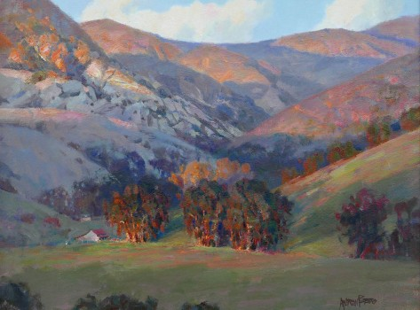 Santa-Ynez-Mountains-24'-high-X-30'-wide