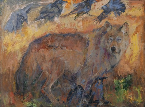 The-Gray-Wolf-by-Mary-Roberson,-32.5'-high-X-42.5'-wide-copy