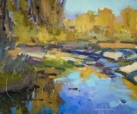 Snake River Study / Jill Carver / 10.00x12.00 / $1550.00/ Sold
