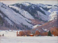 Winter Hills / G. Russell Case / 12.00x16.00 / $3200.00/ Sold