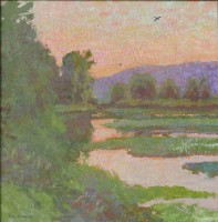Cormorant's Refuge / Daniel Pinkham / 16.00x16.00 / $6400.00