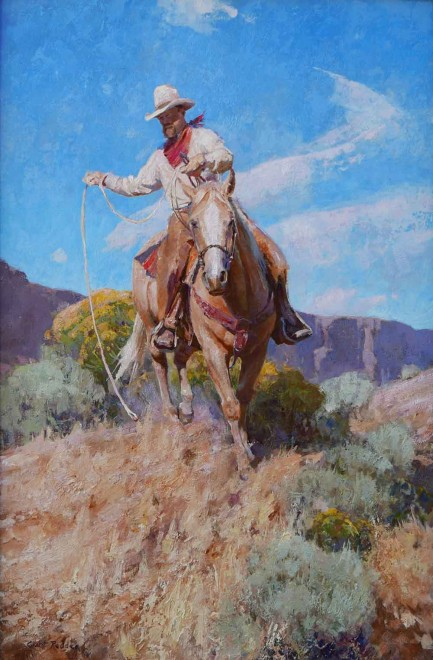 Riding the Palomino / Grant Redden, CA / 30.00x20.00 / $12000.00/ Sold