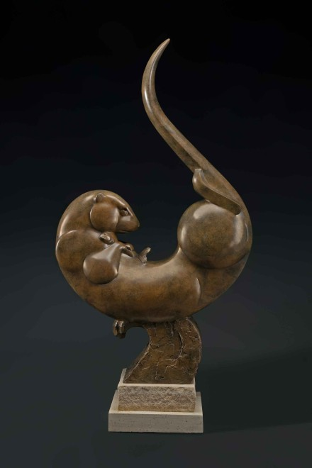Otter Motion / Tim Cherry / 47.00x24.00 / $16800.00