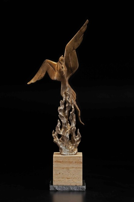 From the Flames / Tim Cherry / 30.00x15.00 / $4600.00
