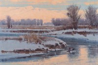 A Winter's Evening / Jim Morgan / 20.00x30.00 / $12500.00