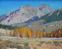Boulder Autumn / G. Russell Case / 16.00x20.00 / $6000.00/ Sold