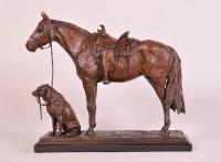 Showing Horses #AC/15 / Richard Loffler / 19.00x17.00 / $7500.00/ Sold