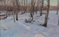 Aspen Grove In Winter / Grant Redden, CA / 12.00x18.00 / $3900.00