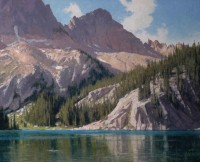 Cramer Lake - Sawtooth Wilderness / Ralph Oberg / 26.00x32.00 / $9800.00/ Sold