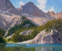 Cramer Peak - Sawtooth Wilderness / Ralph Oberg / 10.00x12.00 / $2000.00/ Sold