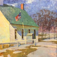 God and Country - Winter Thaw / Daniel Pinkham / 30.00x30.00 / $24000.00/ Sold