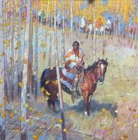 Sacred Journey / John Moyers / 40.00x40.00 / $42000.00/ Sold